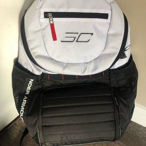 Under Armour Steph Curry basketball backpack